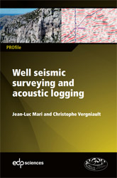 Well seismic surveying and acoustic logging